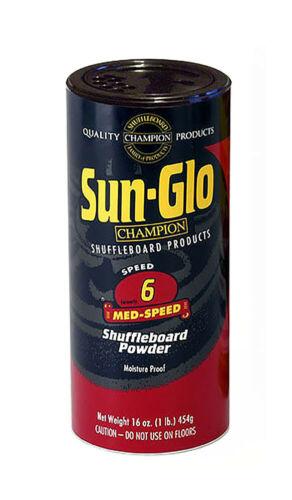 Sample pack med//slow Speeds ! wax Sun Glo Shuffleboard powder