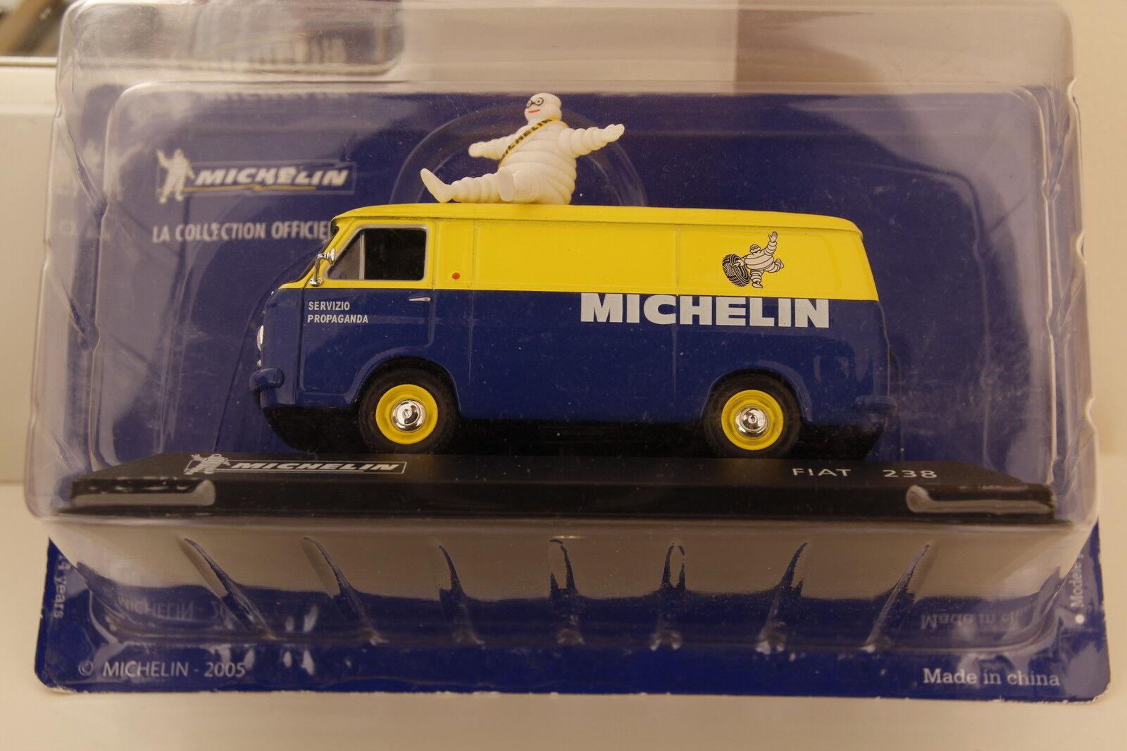 Articolo Articolo Articolo FIAT 238 Michelin 2005 Promotion Propaganda Van 1 43 scale diecast 24a060