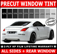2ply Hp All Sides + Rear Precut Window Film Any Tint Shade For Nissan Trucks