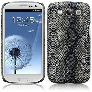 For-Samsung-Galaxy-S3-i9300-Snakeskin-PU-Leather-Hard-Back-Case-Cover