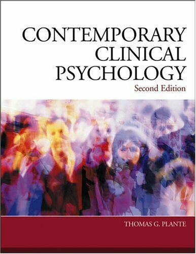 Contemporary Clinical Psychology by Plante, Thomas-ExLibrary