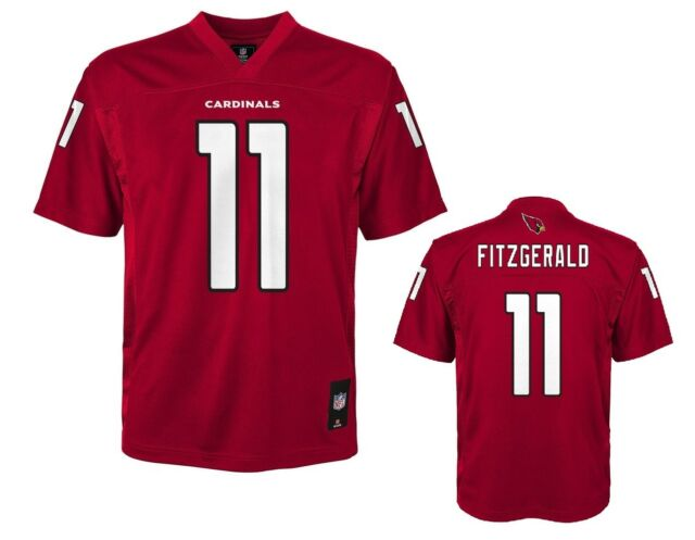 5d4c6d9e8 NFL Arizona Cardinals Larry Fitzgerald  11 Youth Boy s Home Replica Jersey  LARGE