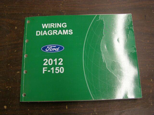 2012 Ford F 15pickup Truck Wiring Diagram Manual Original Full Hd Version Manual Original