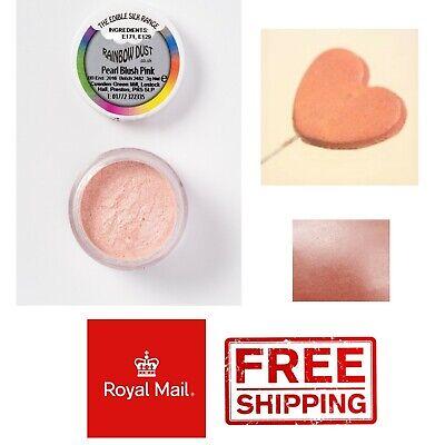 Rainbow Dust Edible Silk Range Metallic Starlight Pearl Lustre Dust Food Powder