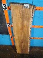 8170, Spalted Maple Live Edge Slab Lumber L 38 W 10 3/4 T 2