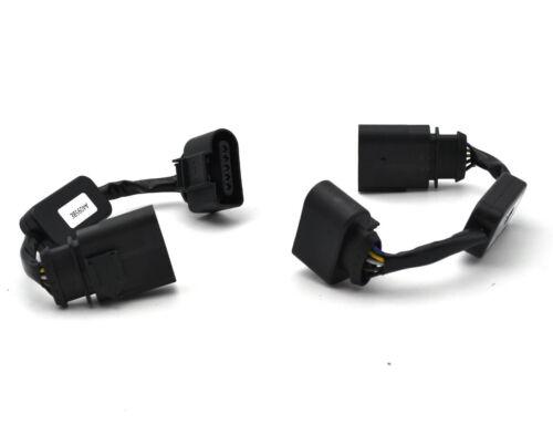 2 adaptadores de las señales de giro dinámica para Audi A4 S4 RS4 B8 Sedan OEM Lámpara De Cola LED
