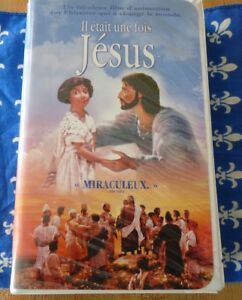 VHS-French-3D-Animation-Movie-Il-Etait-une-Fois-Jesus-The-Miracle-Maker