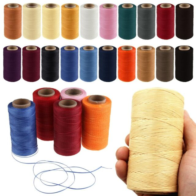 Braided Thread Cord Sewing Machine Stitching For Leather Craft Latest Useful