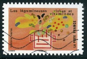 Candide France Autoadhesif Oblitere N° 1458 Le Gout // Legumineuses