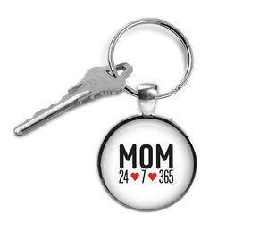 MOM-keyring-Mom-24-7-365-Key-ring-altered-art-fashion-jewelry-wearable-art