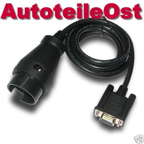1052 Adapter Stecker DB9 Seriell R232 COM zu Mercedes OBD