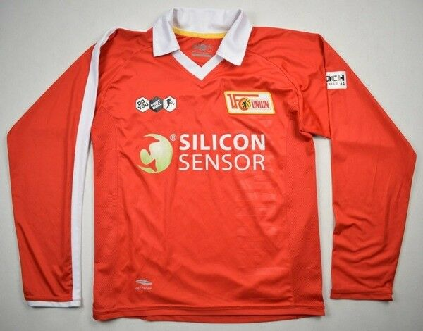 Do you football 2008-09 FC UNION BERLIN LONGSLEEVE koszulka koszulka koszulka Shirt Jersey Kit 862e2c