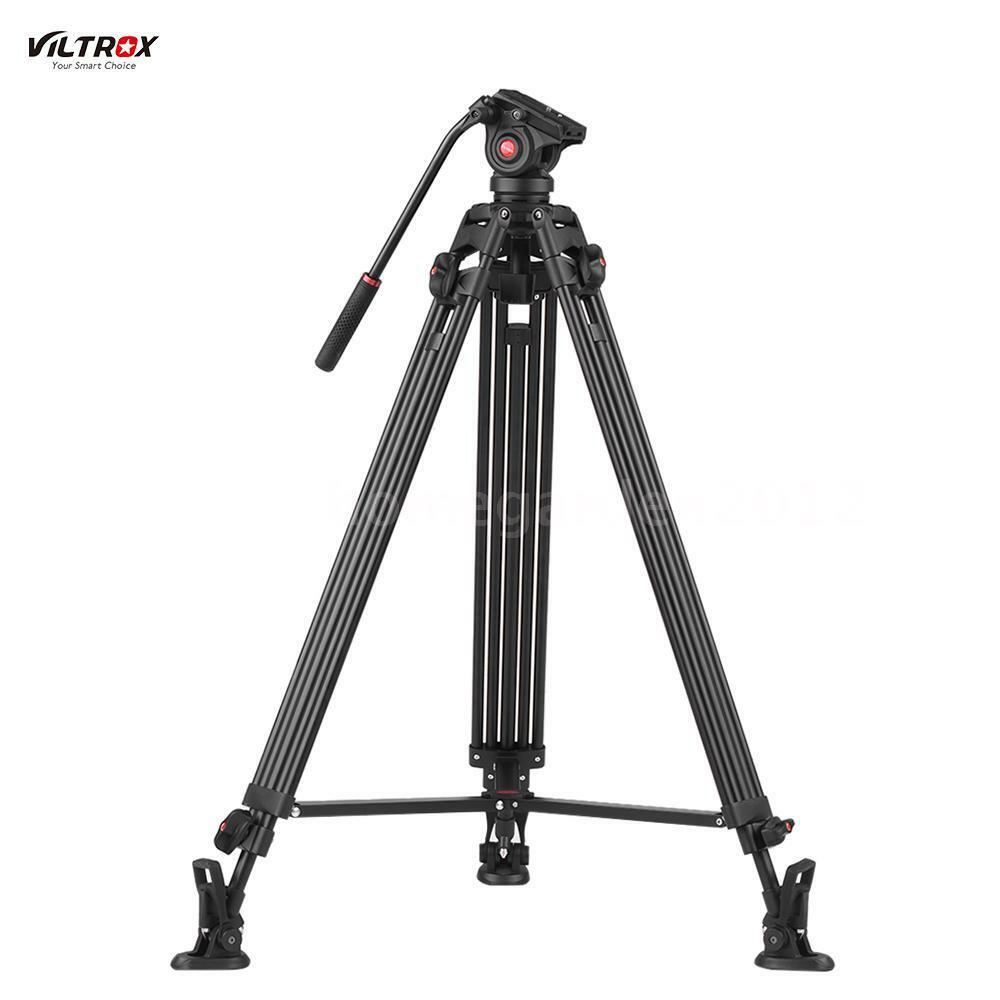 Tripods Monopods Vanguard Veo 2 235ab Aluminum Tripod With Ball Head Red Viltrox Vx18m 75inch Heavy Duty Video Stand 360 Fluid Damping