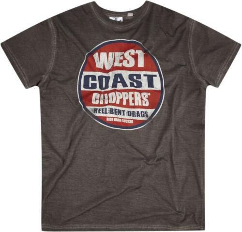 West coast choppers t shirt modèle dealer ride hard