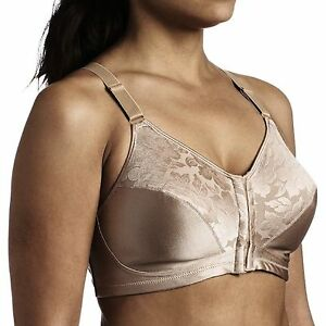 c5afeabbfa Playtex Bra NUDE 18 Hour Posture Back Support Front Closure 4643 ...