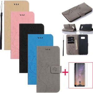 Leather-Magnetic-Flip-Stand-Card-Wallet-Case-Cover-For-All-Samsung-Galaxy-Phone
