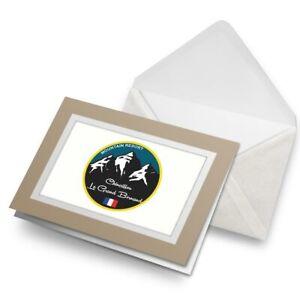Greetings-Card-Biege-Chinaillon-Ski-Snowboard-Resort-France-5335