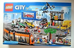 LEGO-City-Town-City-Square-60097-New-in-Sealed-Box