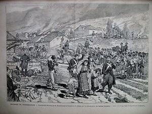 HERZEGOVINE-SOUMISSION-DRATSCHEWO-DOLJANE-INSURGES-MOSTAR-NEVESINJE-GRAVURE-1875