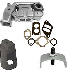 Fits John Deere New 60 620 630 Manifold With Gaskets Heat Exchanger Clamp