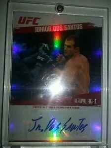 2009-Topps-UFC-Certified-Autograph-Issue-FA-JDS-Junior-Dos-Santos-SP