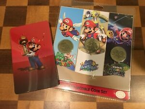 Sunrise Identity Nintendo Mario All-Stars Collectible Coin Set - Pack of 3