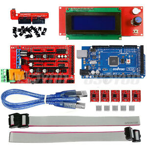 US-3D-Printer-Kit-Mega2560-Board-Ramps-1-4-5-A4988-2004-LCD-for-RepRap-Prusa