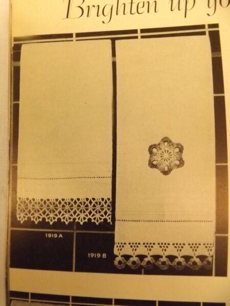 Vtg 1940s 50s Lot 70 Crochet Patterns Calla Lily Ruffled Tatting