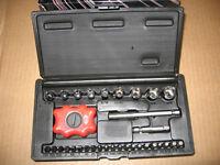 3 Screwdriver Kits Socket Torx Hex Star Phillips Sioux