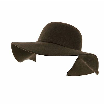 Ladies Woolmix Wide Brim Floppy Hat, 3 colours one size FREE fast post 1st class