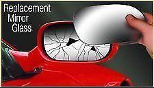 Summit Wing Mirror Glass - Part No. SRG135 ALFA ROMEO 75 1986-1989 OFFSIDE RH