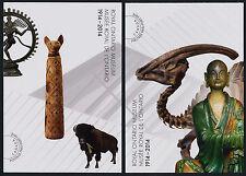 Canada UX377-9 Prepaid Postcards MNH - Royal Ontario Museum, Dinosaur