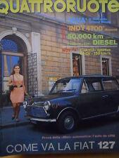 Quattroruote 185 1971  - Test della Mini Automatica - FIAT 127   [Q31]