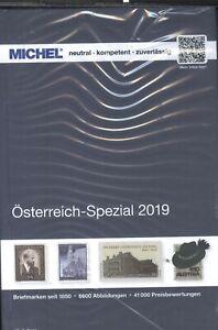 Michel-österreich-spezial 2019 – Inkl. Ganzsachen