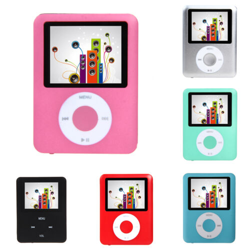 Slim 8GB 1.8in LCD MP4 Media MP3 Player Video Game Movie FM Radio Voice Recorder