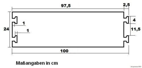 2x 2 Kanal CP Kabelbrücke ECO Kabelkanal Gummibrücke Cable Protector Kabelschutz