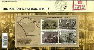 2016-GB-The-Great-War-1916-Presentation-Pack-527-Replacement-pack-B