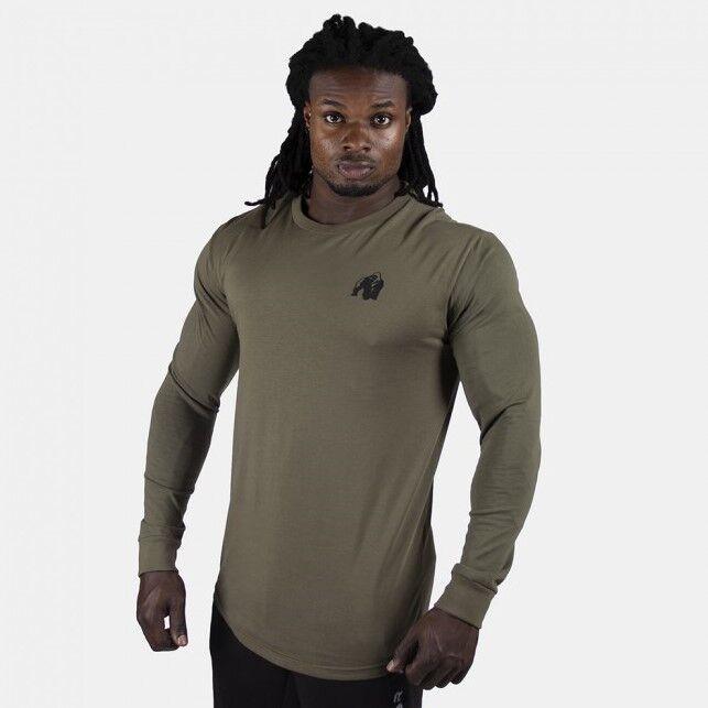 Gorilla Wear Williams Longsleeve - Army Green