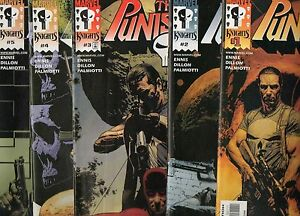 PUNISHER-1-2-3-4-5-ENNIS-Marvel-Knights-2000-RUN-DAREDEVIL-vs-PUNISHER-NM-9-4