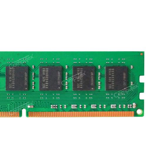 16GB KIT 2X8GB  PC3-12800 DDR3-1600MHz 240pin NonEcc Desktop  Low Density Memory