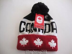 043016dca3d Image is loading 2018-PyeongChang-Winter-Olympic-Team-Canada -Colourblock-Tuque-
