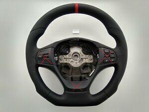 BMW-F22-F30-NEW-NAPPA-ERGONOMIC-INLAYS-STEERING-WHEEL-FLAT-botton-THICK-amp-HEAVY