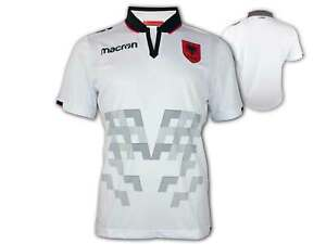 Macron-Albanien-Away-Shirt-weiss-FSHF-Away-Jersey-Albania-Fan-Trikot-EM-WM-S-XXL
