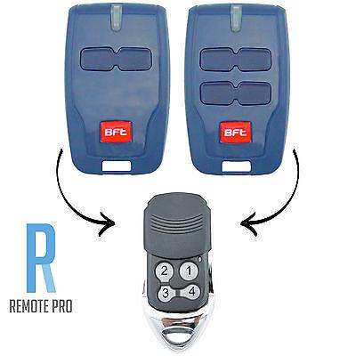 BFT Compatible Garage/Gate Remote Type: B RCB TX2/TX4/0678