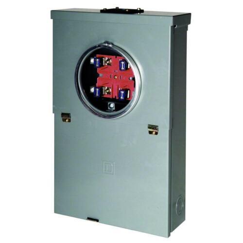 Homeline 100 Amp 20-Circuit Outdoor Ring-Type Overhead Main Breaker CSE 10-Space