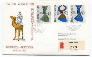 Romantique Ffc 1967 Saudi Arabian Airlines Boeing Geneva Jeddah Registered Liechtenstein