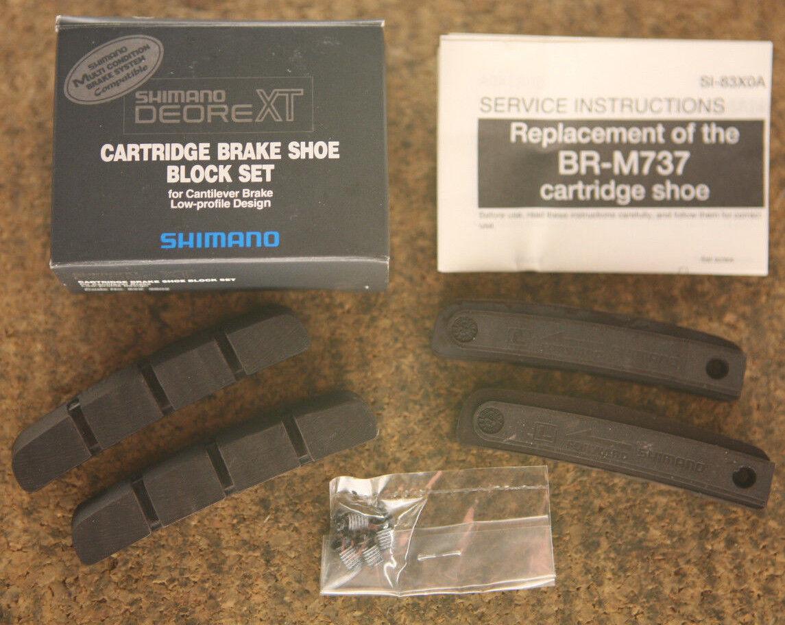 Retro Kult set (4) NOS NEW Shimano Deore XT old school ATB MTB brake pads