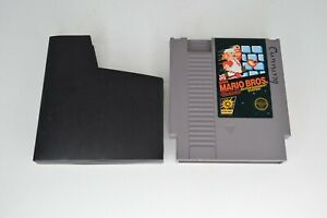 NES-Nintendo-Super-Mario-Bros-Brothers-Cartridge-w-Black-Sleeve-TESTED-WORKING