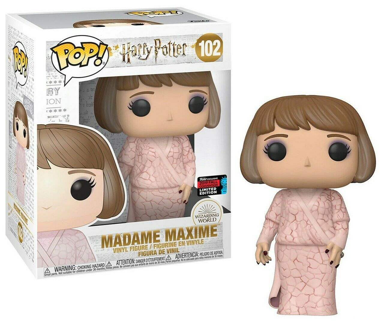 Funko Pop 6  Big Größe Harry Potter 102 Madame Maxime 42847 NYCC2019