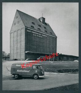 VOLKSWAGEN VW BULLI cereali-Silo agro Bevensen Camion Mercedes-Benz Uelzen 1965